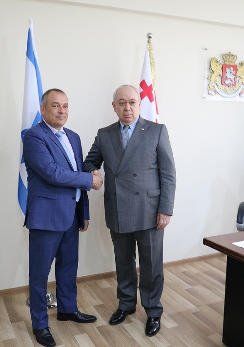 Visit of Ambassador of the State of Israel
