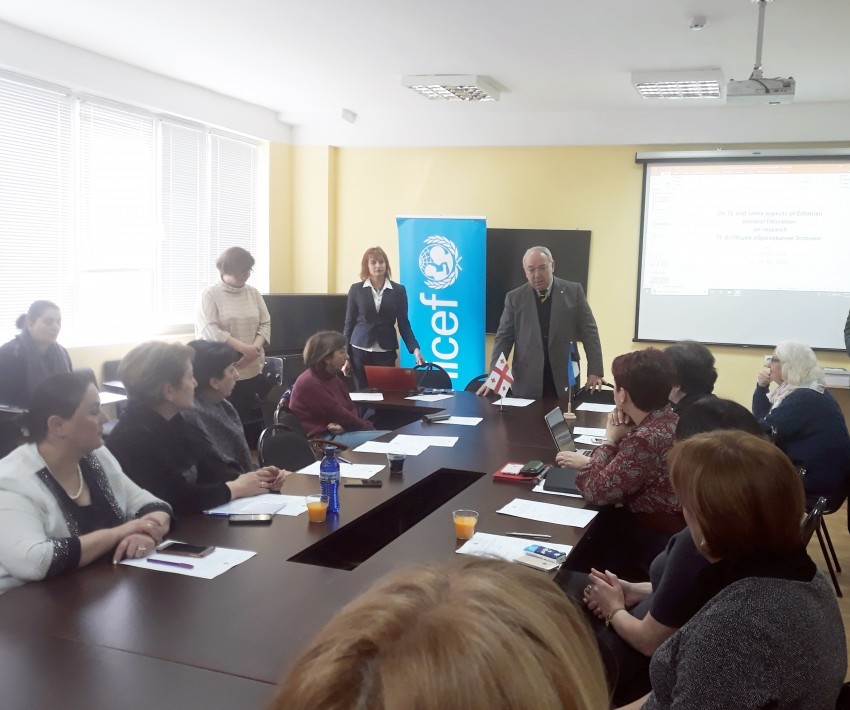 Sokhumi State University Hosted a Working Meeting